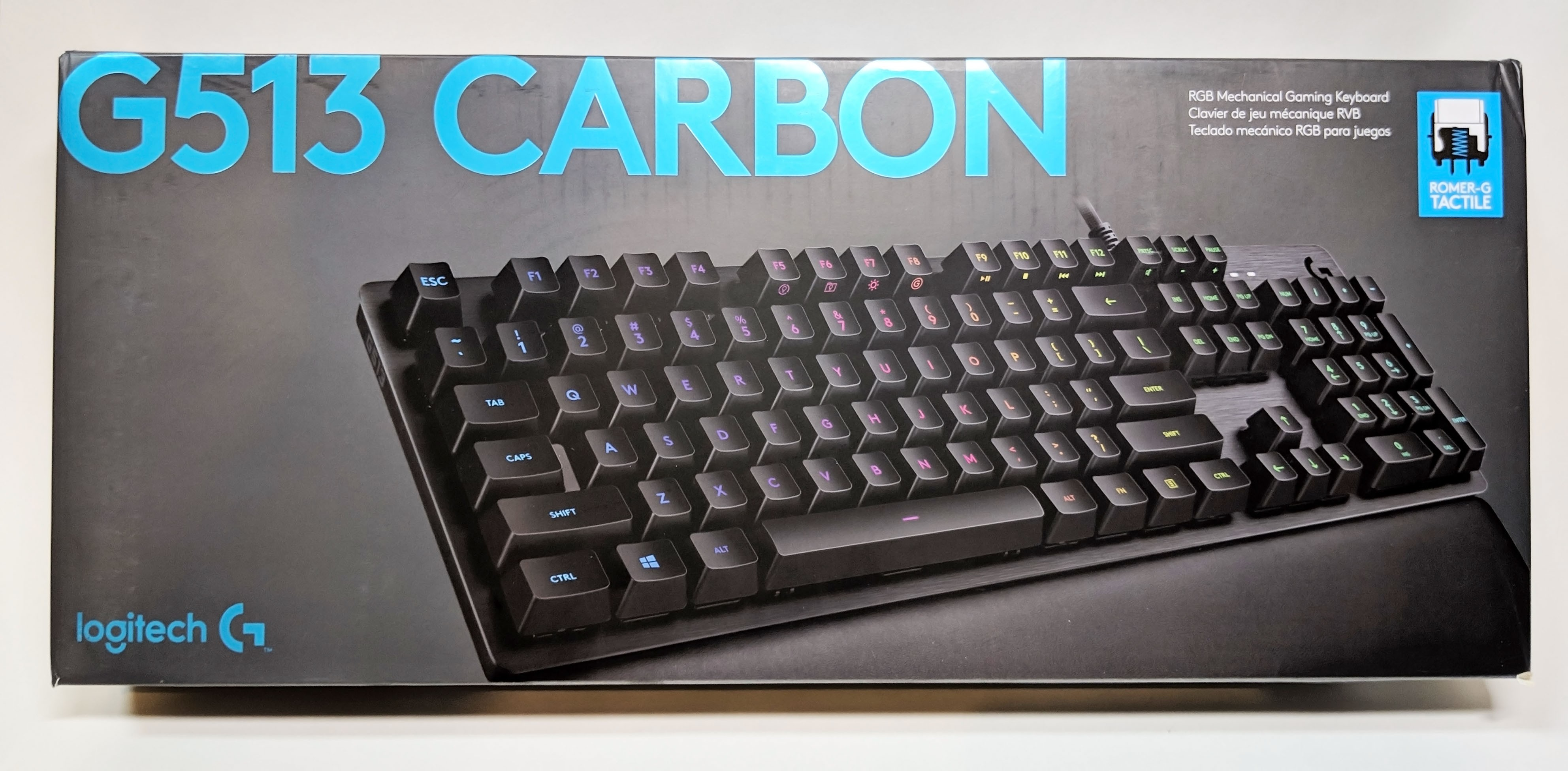 Logitech G513 Carbon Gaming Keyboard Review – GND-Tech
