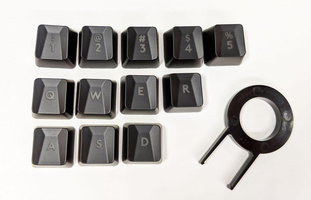 Logitech G513 Carbon Extra Keys
