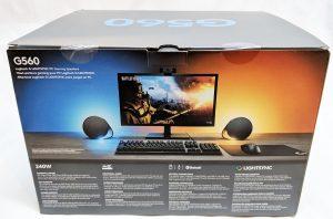 Logitech G560 Gaming Speaker Box Back