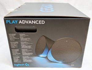 Logitech G560 Gaming Speaker Box Left