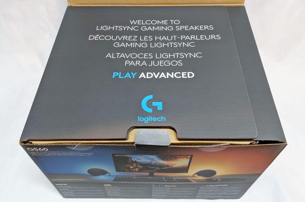 Logitech G560 Gaming Speaker Inside Flap 1