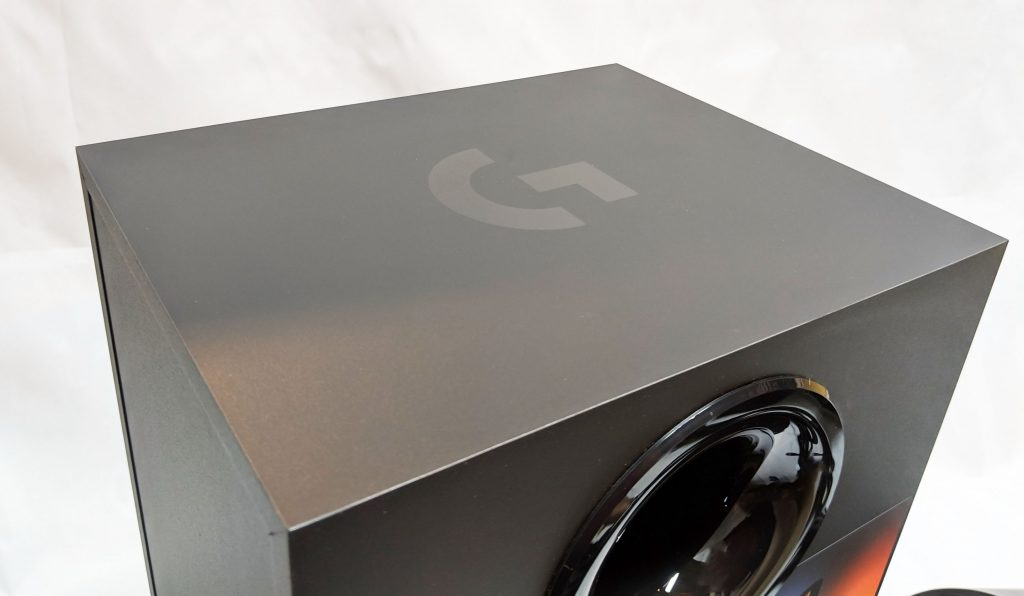 Logitech G560 Gaming Speaker Top