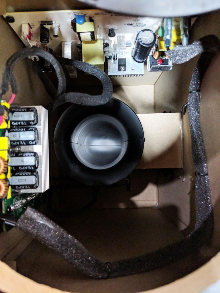 Logitech G560 Gaming Speaker Internals