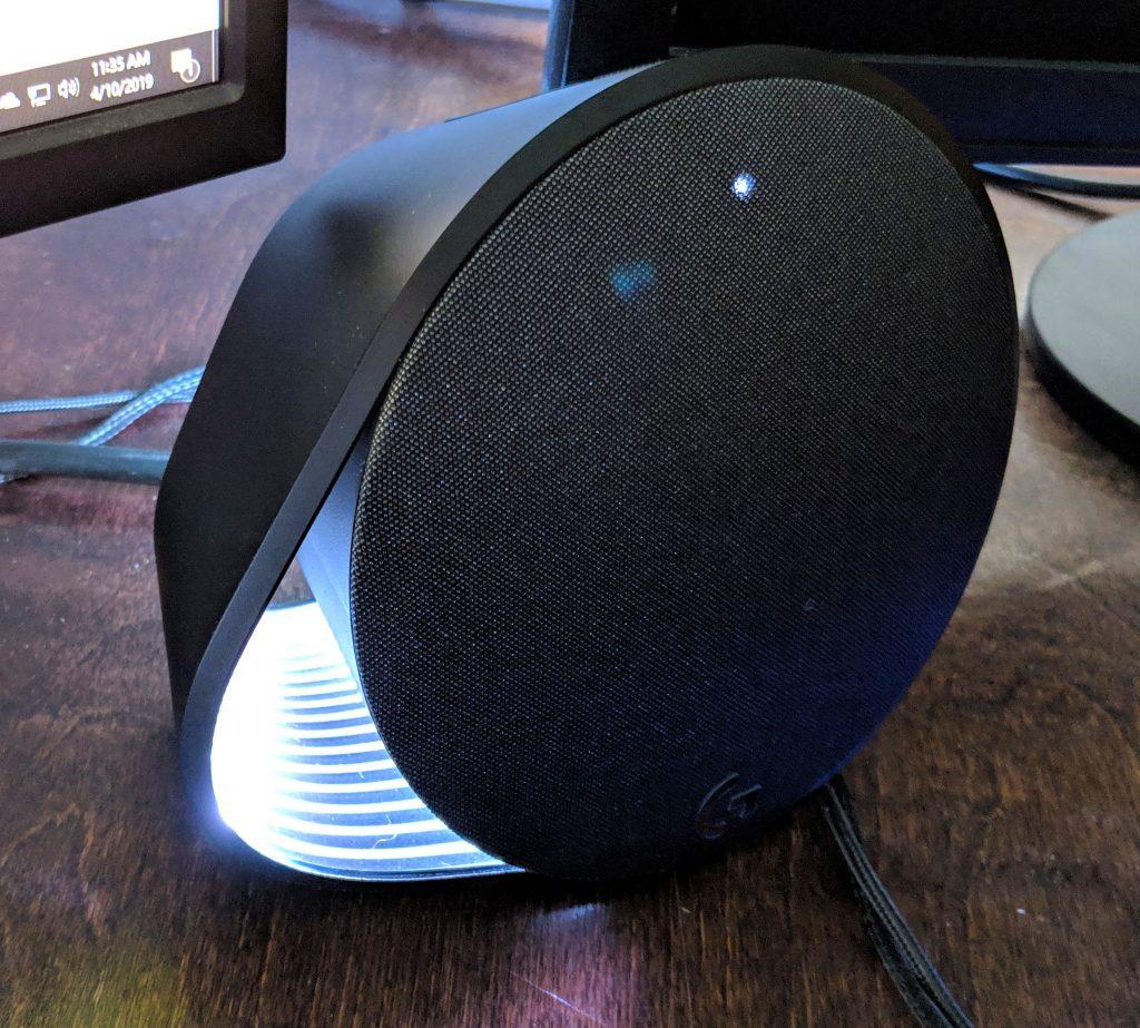 Logitech G560 Gaming Speaker RGB On