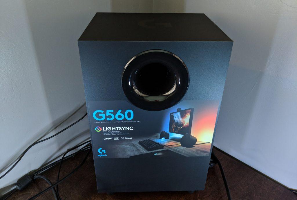 Logitech G560 Gaming Speaker Subwoofer
