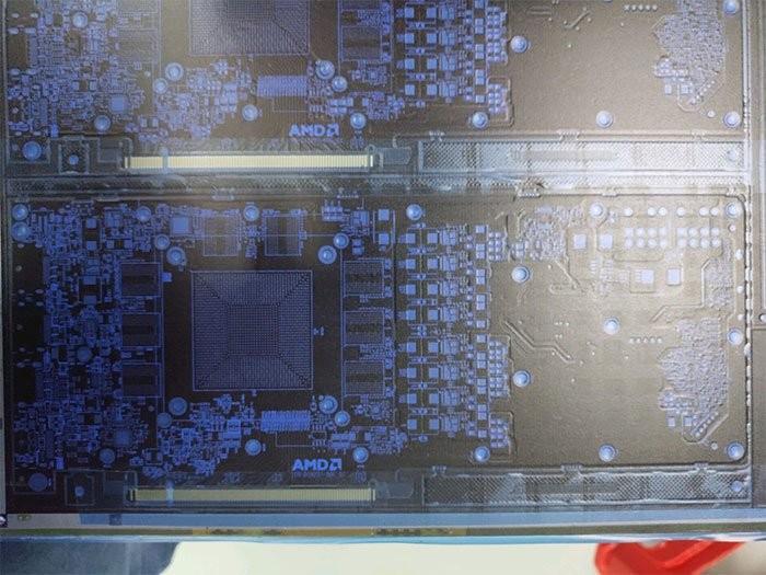 AMD Navi PCB