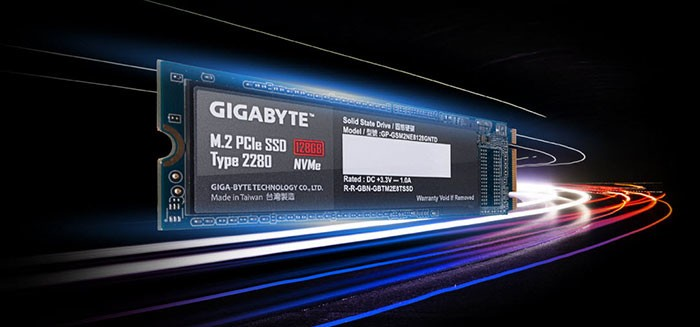 Gigabyte PCIE 4.0 M.2 SSD