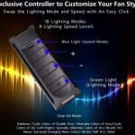 Lian Li Bora Digital Fan Specs