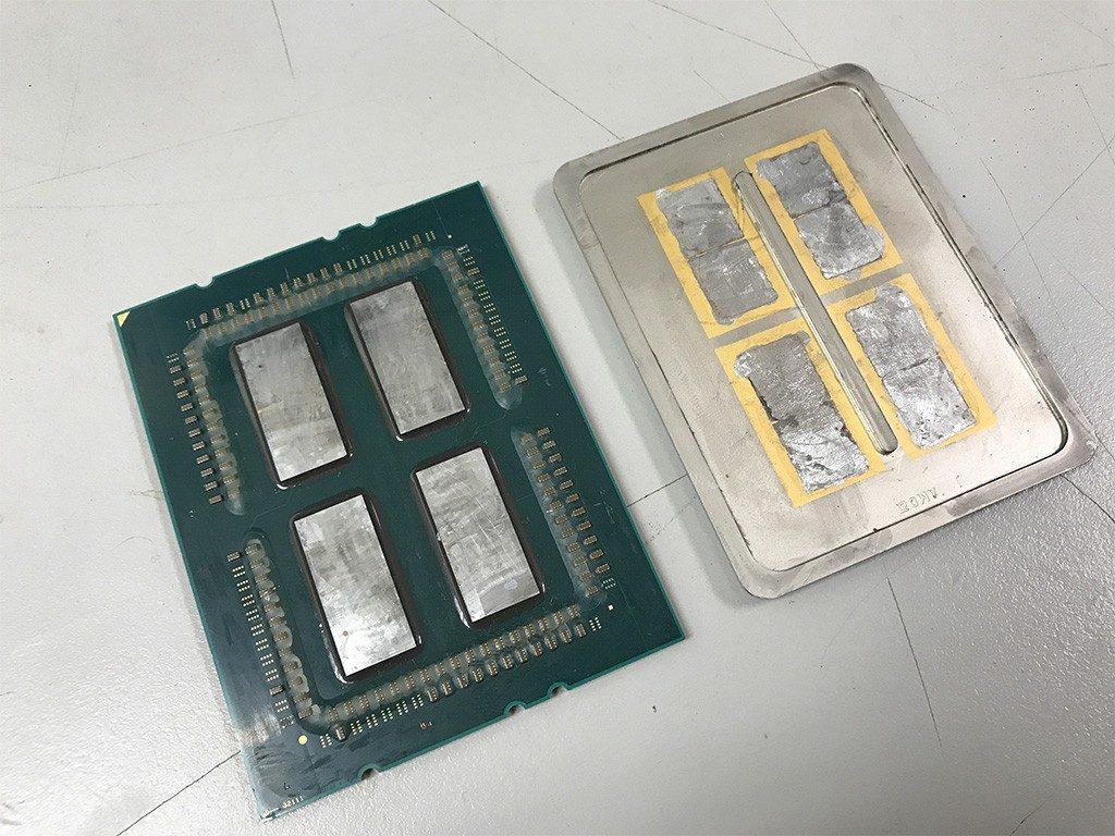 AMD Ryzen Threadripper Soldered IHS