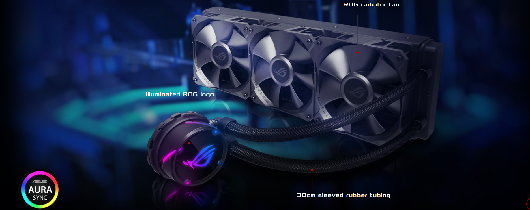 Asus Releases Rog Strix Lc 360 Aio Cpu Cooler Gnd Tech