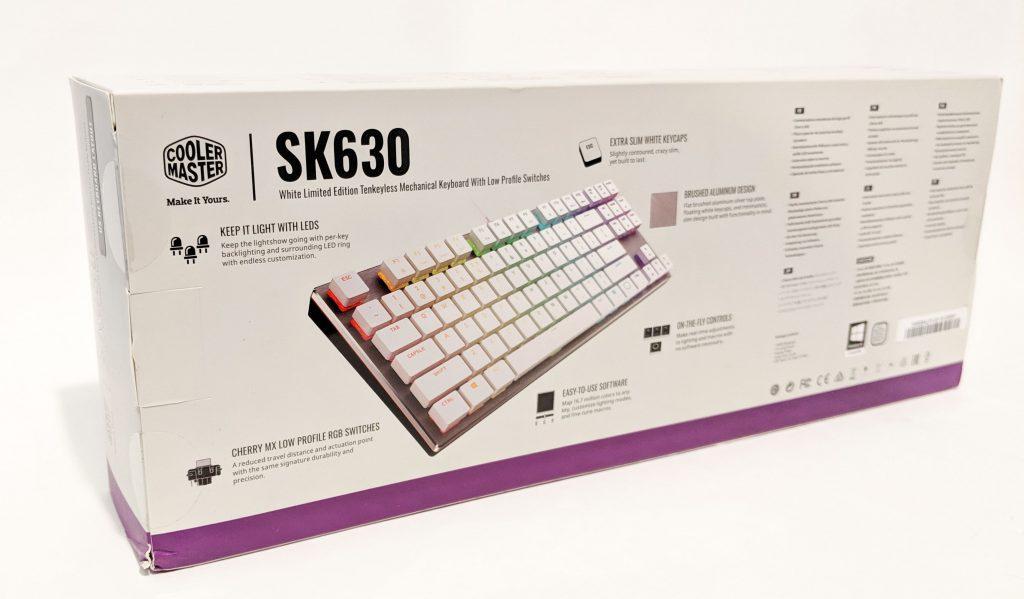 Cooler Master SK630 White Box Back