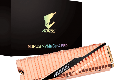 AORUS NVMe Gen4 SSD Featured