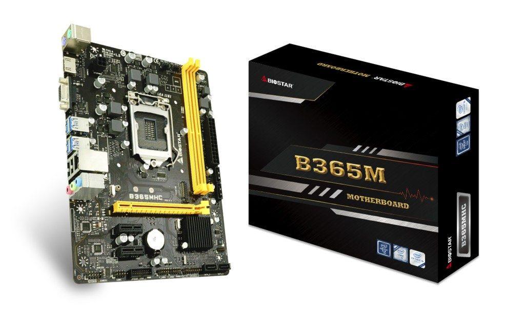 Biostar B365MHC Motherboard Featured