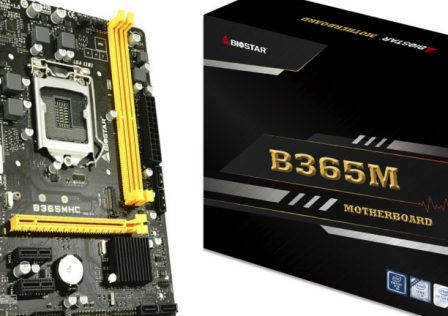 Biostar B365MHC Motherboard Featured