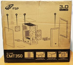 FSP CMT350 Case Box Rear