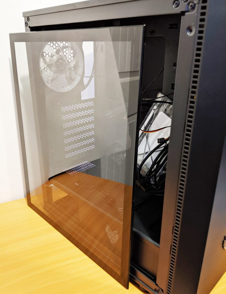 FSP CMT350 Case Tempered Glass Side Panel