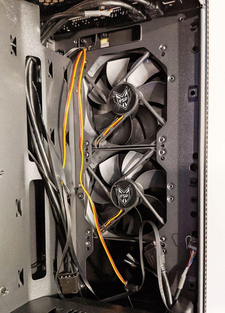 FSP CMT350 Case Inside Front