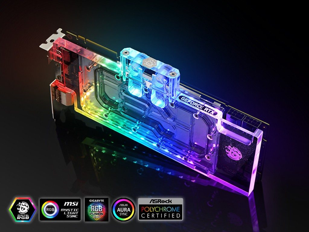 Bitspower Lotan Waterblock Features