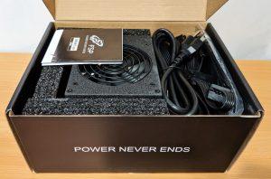 FSP Dagger Pro 650W SFX Box Open
