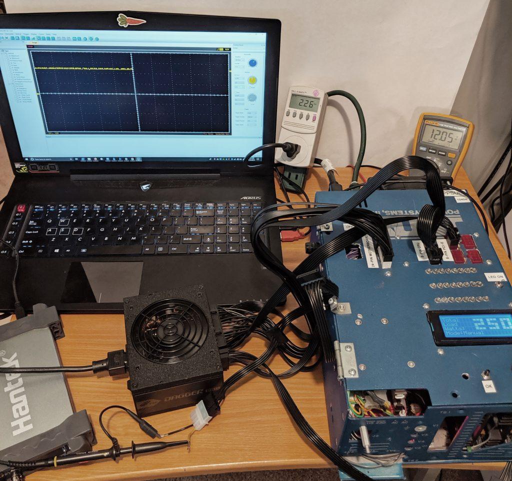 FSP Dagger Pro 650W SFX Tester 2