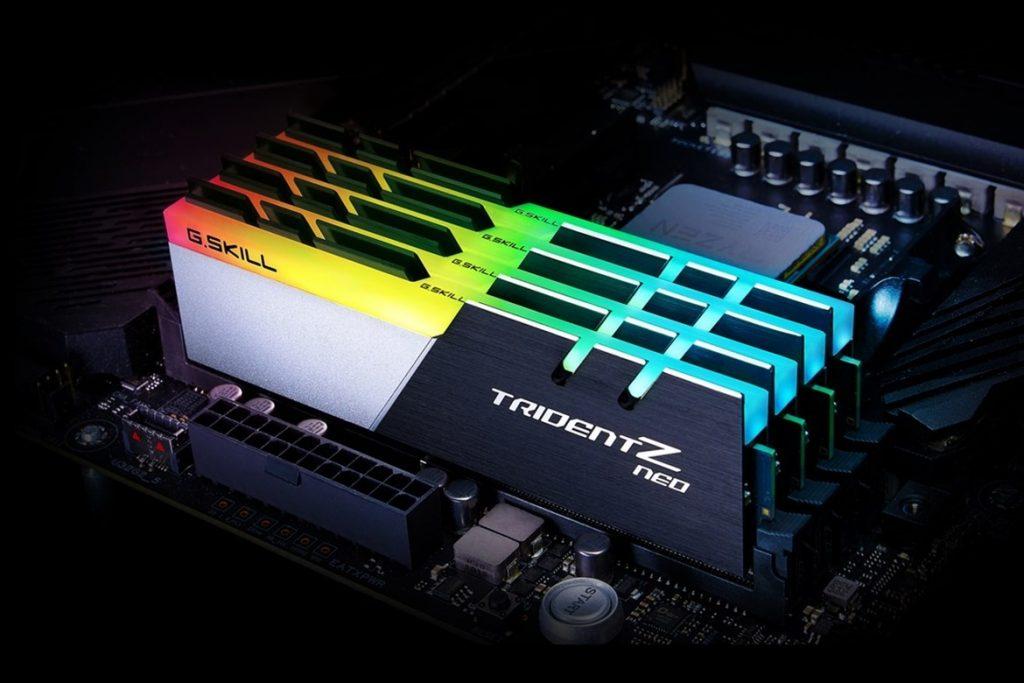 G.Skill Trident Z Nero AMD Ryzen