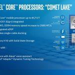 10th Gen Intel Core Mobile Comet Lake