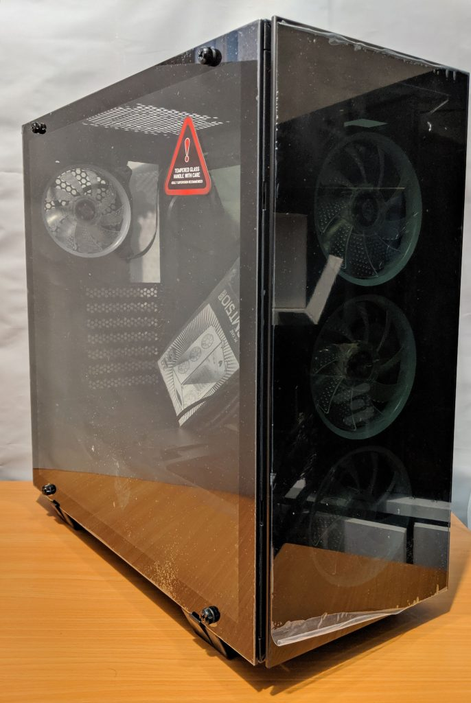 FSP CMT510 Plus Gaming PC Case Packaging 4