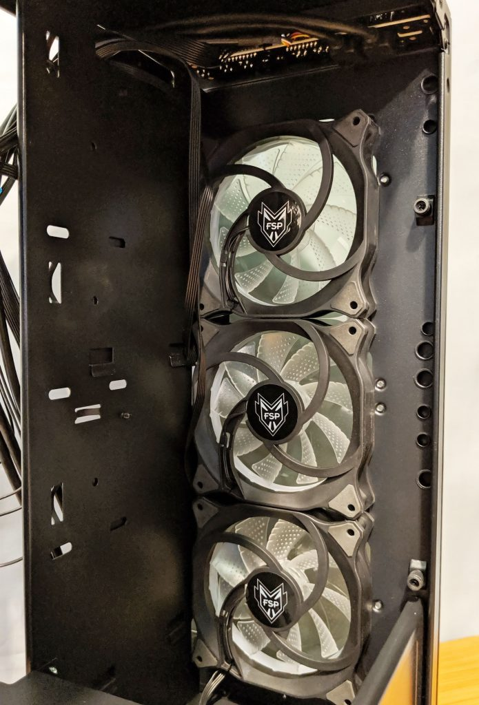 FSP CMT510 Plus Gaming PC Case Front Fans