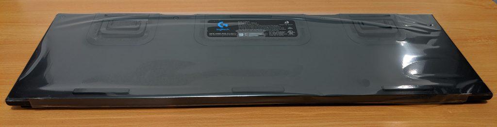 Logitech G915 LIGHTSPEED Underside Packaging