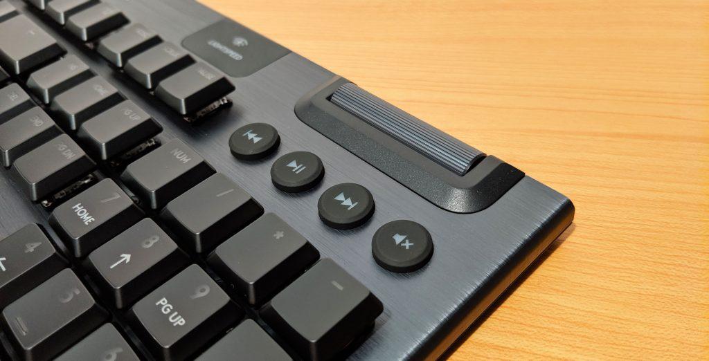 Logitech G915 LIGHTSPEED Volume Media Keys