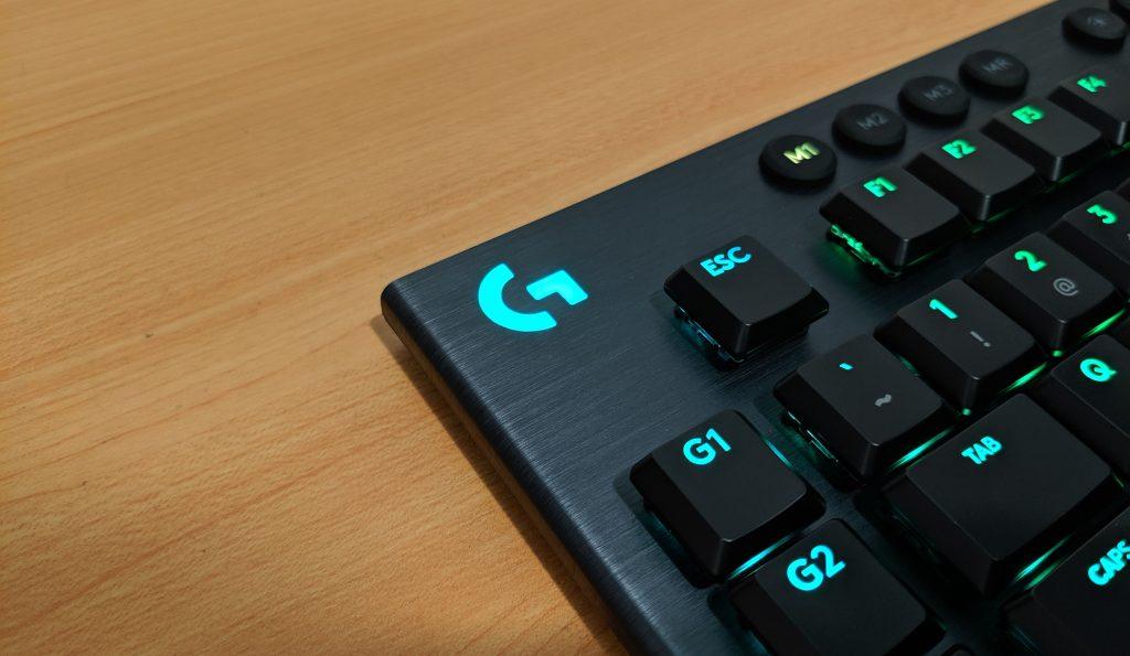 Logitech G915 LIGHTSPEED RGB LOGO