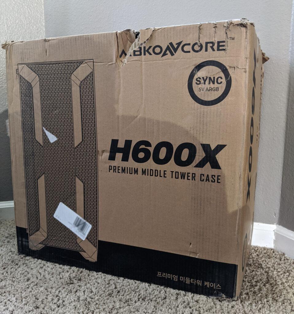 Abkoncore H600X Case Box