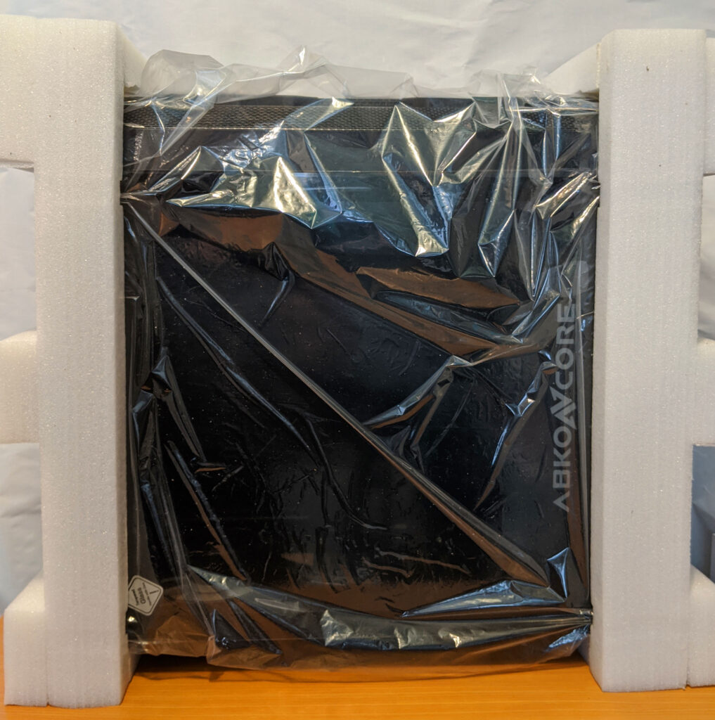 Abkoncore H600X Case Packaging