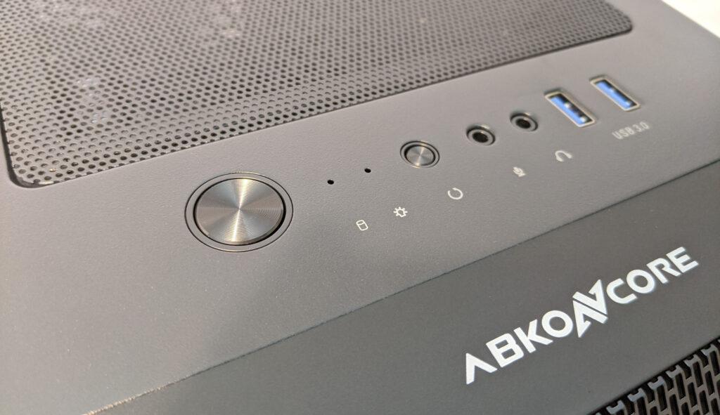 Abkoncore H600X Case Top I/O