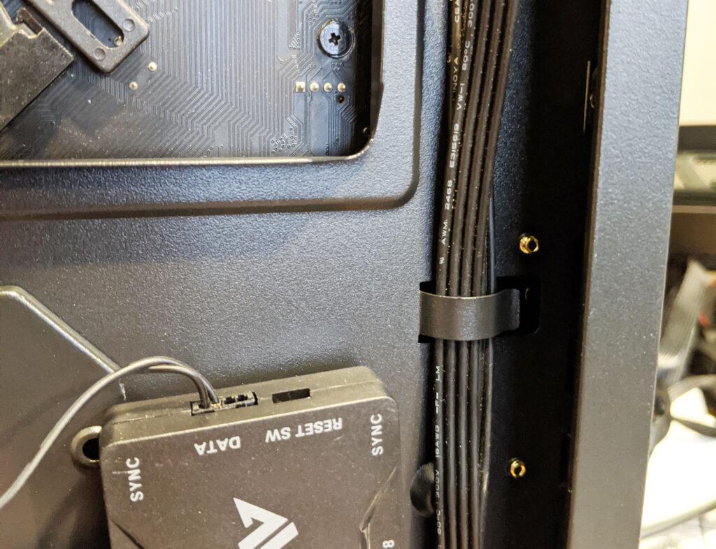 Abkoncore H600X Case Cable Management