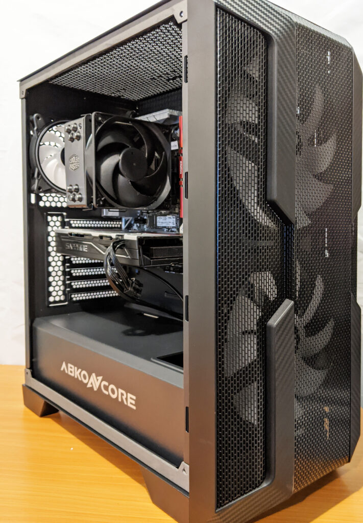 Abkoncore H600X Case Built Front Left