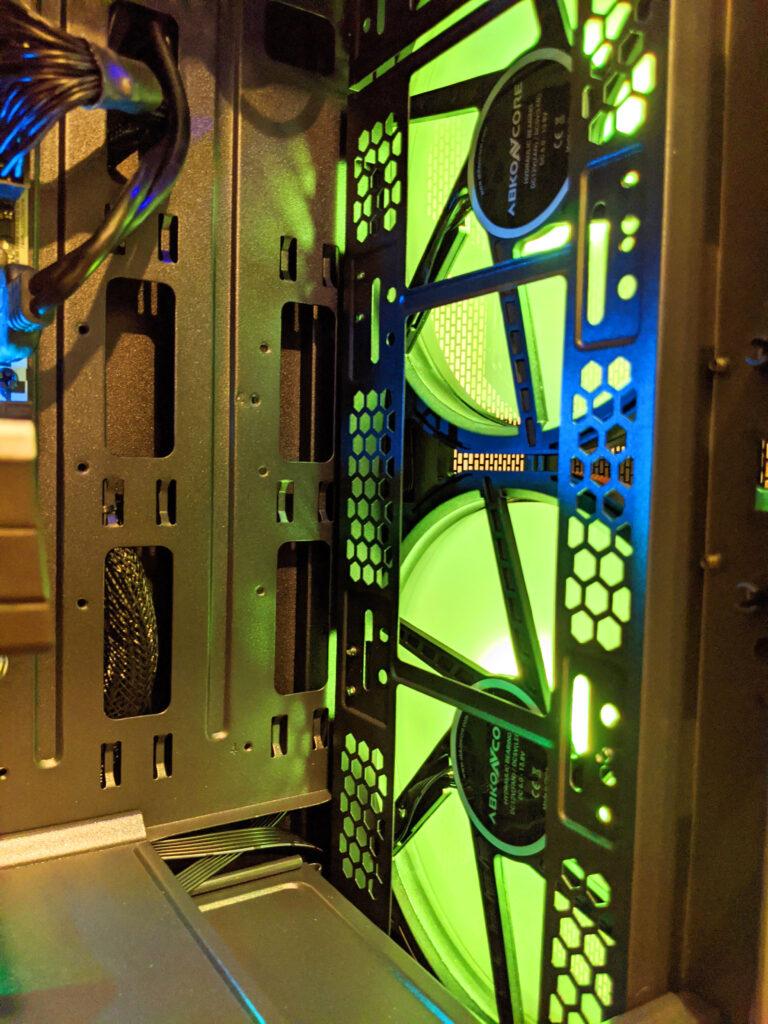 Abkoncore H600X Case RGB Inside Front