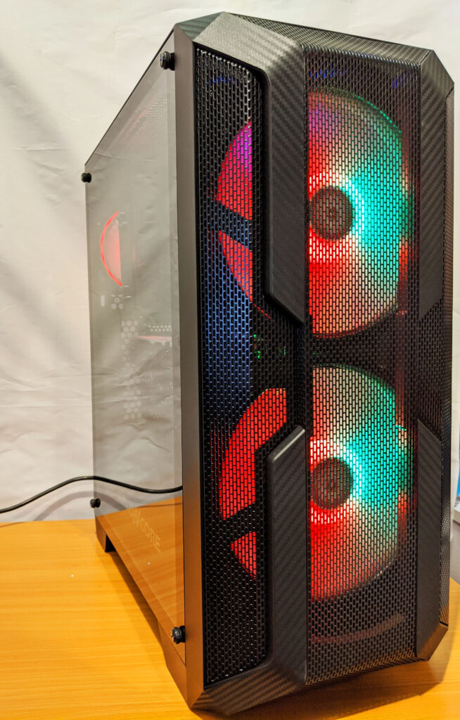 Abkoncore H600X Case Build Complete