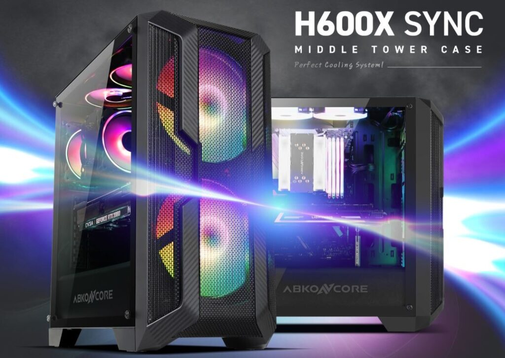 Abkoncore H600X PC Case Featured Image
