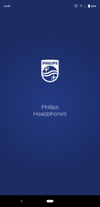 Philips TAT8505BK Earbuds App Splash