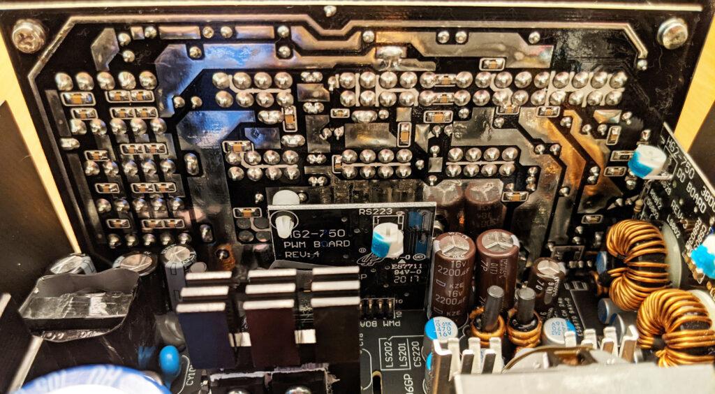 FSP Hydro G Pro 750W PSU Modular PCB