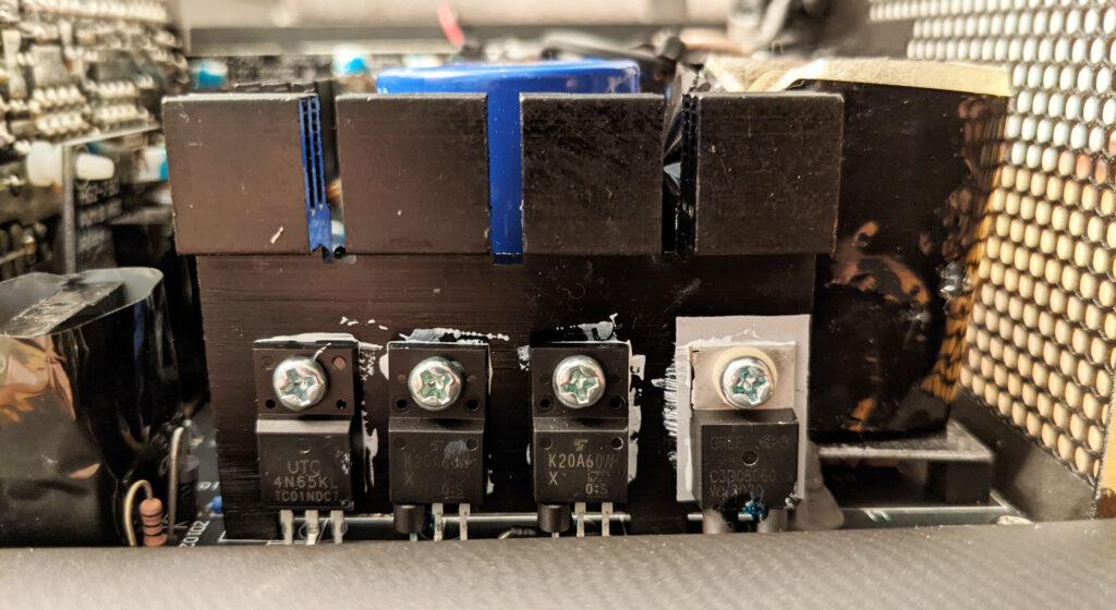 FSP Hydro G Pro 750W PSU MOSFET