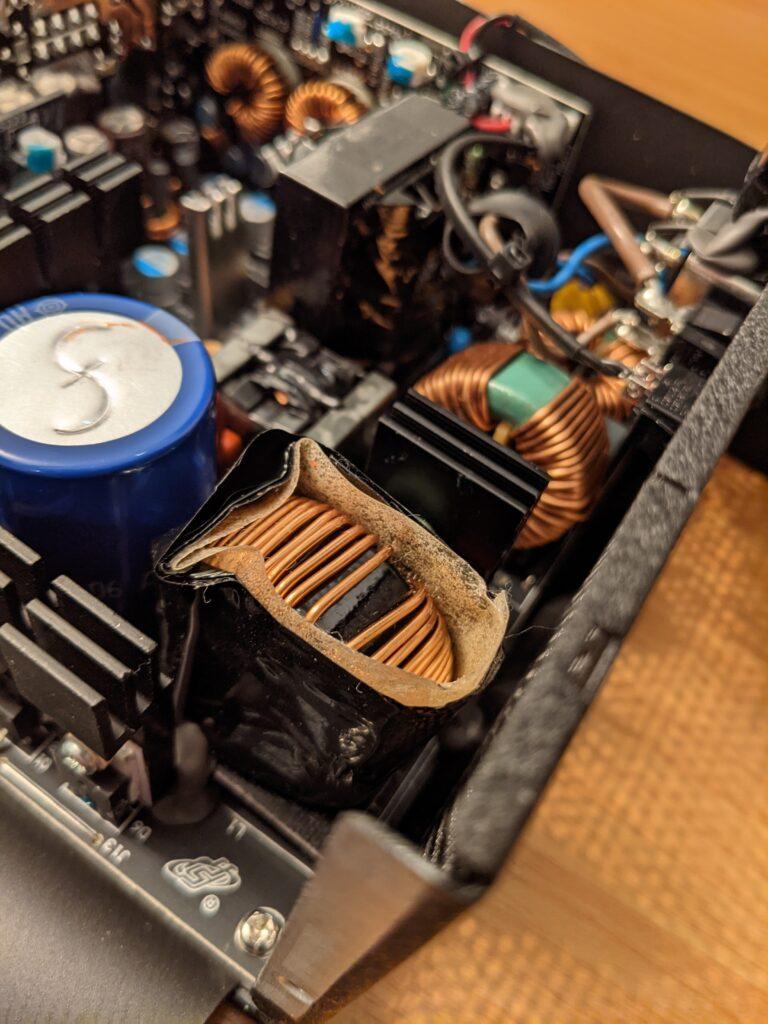 FSP Hydro G Pro 750W PSU Chokes