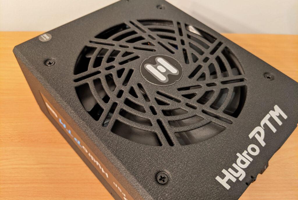 FSP Hydro PTM Pro PSU 1000W Side Angle