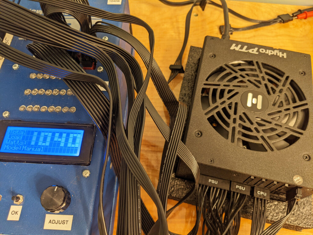 FSP Hydro PTM Pro PSU 1000W Testing 3