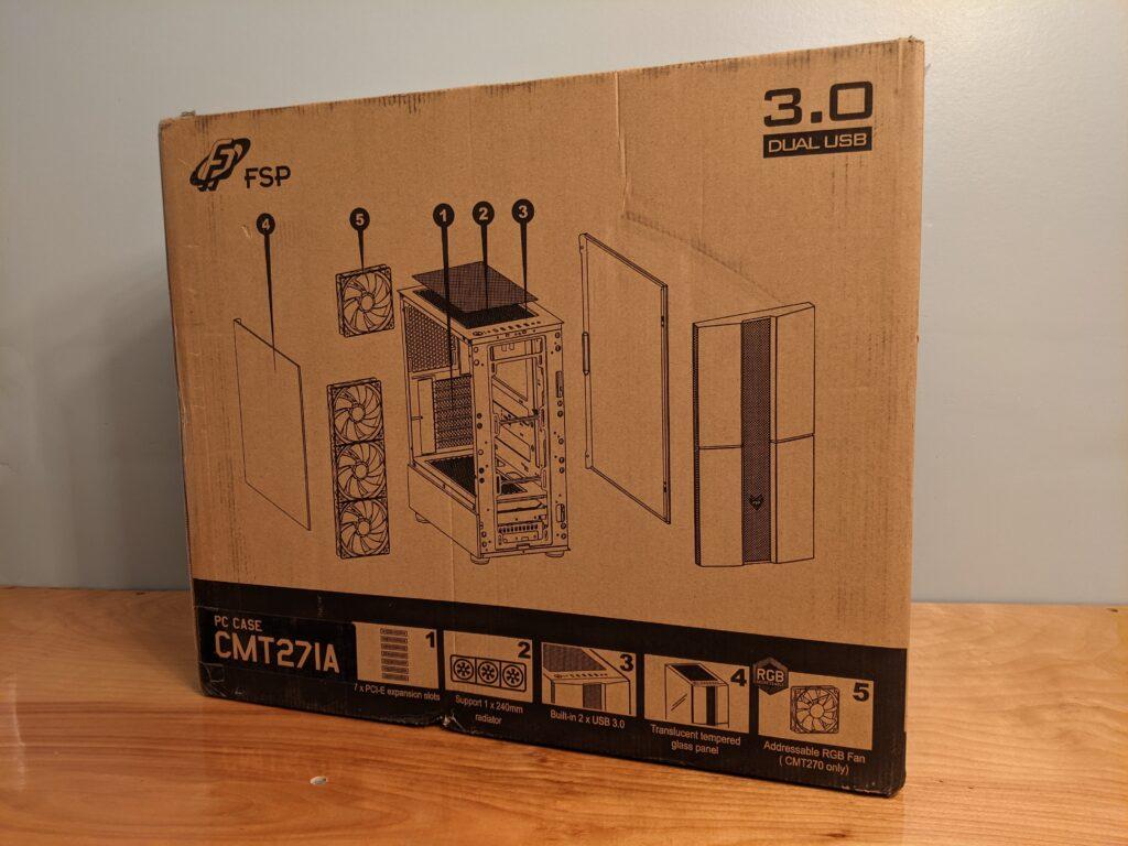 FSP CMT271 Case Box Rear