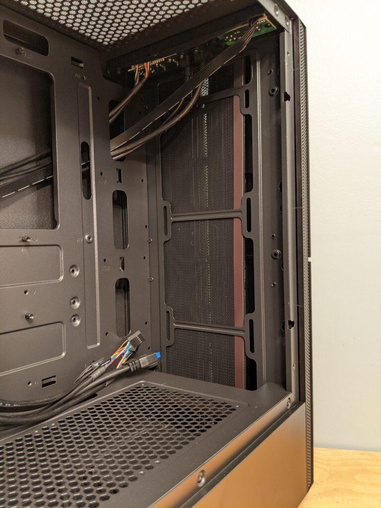 FSP CMT271 Case Inside Front
